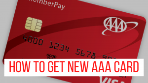 How to Get New AAA Card